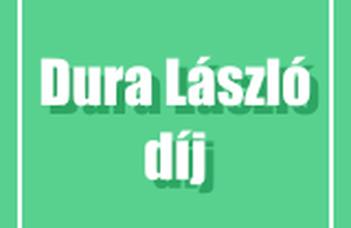 EET MA hallgatók eredményei a Dura László pályázaton