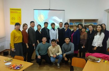 Kapcsolatépítés Kazahsztánban